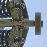 Puleggia della seggiovia Fotografia Stock