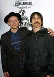 Pulga y Anthony Kiedis imagen de archivo libre de regalías