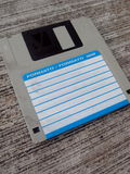 3 5 pulgadas de disquete Imágenes de archivo libres de regalías