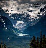 Pulgar de Lake Louise y de los diablos Fotografía de archivo libre de regalías