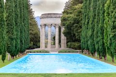 Pulgas Water Temple Stock Photo