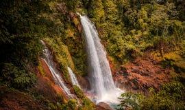 Pulhapanzak瀑布在洪都拉斯- 8 免版税库存照片