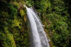 Pulhapanzak瀑布在洪都拉斯- 10 图库摄影