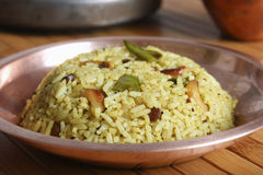 Puli sadam is rice based dish from Tamilnadu Royalty Free Stock Photo