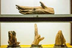 Puli Township, Nantou County Thao Cultural Exhibition Center exhibition agarwood Royalty Free Stock Photos