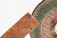 Pulido de piedra Fotos de archivo