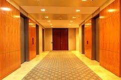 Pulido, parte alta arriba y abajo del elevador Fotos de archivo libres de regalías