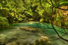 Pulisca il fiume Immagini Stock Libere da Diritti