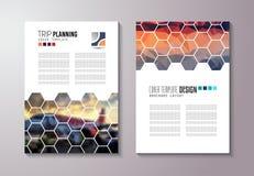 Pulisca il modello della disposizione di Infographic per l'analisi di informazioni e di dati Fotografia Stock Libera da Diritti