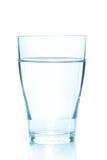 Pulisca il vetro dell'acqua tranquilla Immagini Stock