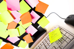 Pulisca il vostro desktop Immagine Stock