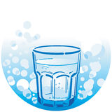 Pulisca l'acqua potabile Fotografia Stock Libera da Diritti