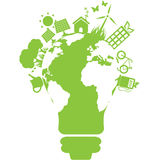 Pulisca l'elettricità illustrazione di stock