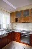 Pulisca la cucina Fotografia Stock