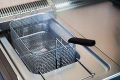 Pulisca la friggitrice Immagini Stock Libere da Diritti