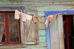 Pulisca la lavanderia Fotografia Stock