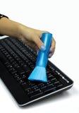 Pulisca la tastiera Fotografia Stock Libera da Diritti