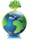 Pulisca la terra royalty illustrazione gratis
