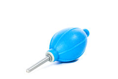 Pulitore di gomma della polvere della pompa dell'aeratore Fotografie Stock