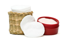Pulitore e moisturizer del fronte Immagini Stock