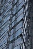 Pulitori che puliscono finestra fotografia stock libera da diritti
