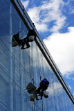 Pulitori della facciata Immagine Stock Libera da Diritti