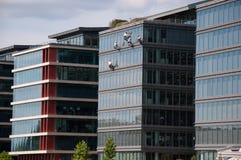Pulitori di finestra fotografie stock libere da diritti