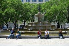 Pulitzer Fountain Royalty Free Stock Photo