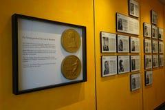 Pulitzer Wall Stock Image