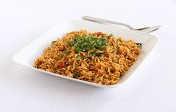 Puliyogare South Indian Traditional Vegetarian Rice Dish Royalty Free Stock Photography