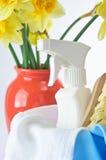 Pulizie di primavera immagini stock libere da diritti