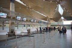 Pulkovo lotniska wnętrze Obrazy Stock