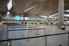 Pulkovo lotniska wnętrze Obrazy Royalty Free