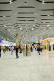 Pulkovo lotniska wnętrze Zdjęcia Royalty Free