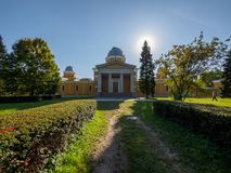 Pulkovo observatorium Arkivbild