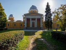 Pulkovo observatorium Royaltyfri Fotografi