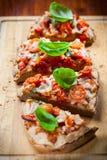Pull aparat pizza bread Stock Image
