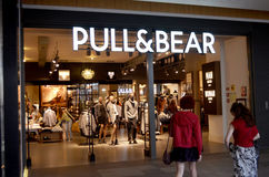 Pull & Bear clothing store Stock Photo
