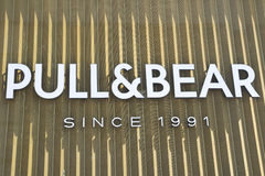 Pull And Bear Logo Stock Image