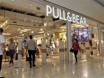 Pull&Bear modelager i Rome fotografering för bildbyråer
