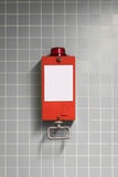 Pull handle - emergency break / fire alarm Royalty Free Stock Image