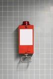 Pull handle - emergency break / fire alarm Royalty Free Stock Image