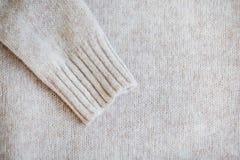 Pull occasionnel de laine de couleur en pastel Image stock