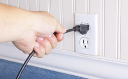 Pull the Plug Stock Photography