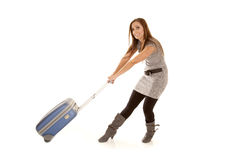 Pull suitcase Stock Photography