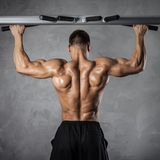 Pull-up exercise Stock Photos