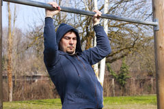 Pull-up Workout Royalty Free Stock Photos