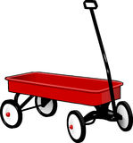 Pull, Wagon, Trolley, Pulling, Cart Royalty Free Stock Photos