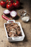 Pulled pork Royalty Free Stock Images
