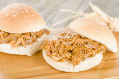 Pulled Pork Slider Royalty Free Stock Photos